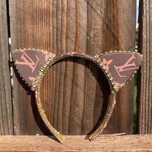 Cat Ears, Crystal Cat Ears, Cat Ears Headband